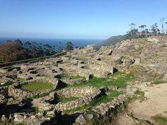 Ruines, Celtic, Galice, La Garde