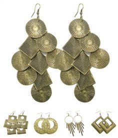 PAPARAZZI BIG BRASS Earrings $5 each! loripaparazzi@gmail.com Host a party, get 'em for FREE!