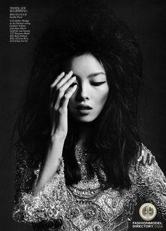 Fei Fei Sun wearing Emilio Pucci for Vogue China // fashion editorial