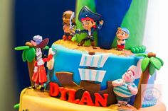 Dylan's Jake and the Never Land Pirates-Themed Party – Birthday Cake