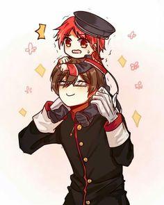 The Royal Tutor (Oushitsu Kyoushi Haine) #Anime #Manga   Haine and Bruno! || Oushitsu Kyoushi Haine