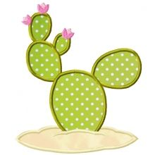 Cactus Applique-cactus applique, western applique, cowboy and Indian appliques