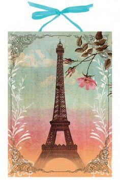 PAPAYA! Art Eiffel Tower Art Panel Print - Art Panel Prints - Decor - Papaya!