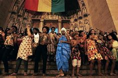 More than half of Brazil's 200 million people are of African descent, the world's second largest black population