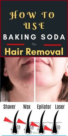 , How To Use Baking Soda For Hair Removal - Natural Home Remedies , How To Use Baking Soda For Hair Removal. Facial hair removal is not an easy job for some of us. However wax and other pull on methods are effective in. Chin Hair Removal, Hair Removal Methods, Hair Removal Cream, Natural Hair Removal, Hair Removal Diy, Permanent Hair Removal, Homemade Hair Removal, Sugaring Hair Removal, At Home Hair Removal