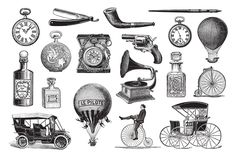 Ad: 50 Vintage Gentleman's Illustrations by hypegraphic on Set of 50 different vintage elements perfect for restaurant, food and coffee branding or wedding invitation. All items are well organized Coffee Branding, Food Branding, Vintage Gentleman, Food Illustrations, Collage Sheet, Graphic Illustration, Engraving Illustration, Vintage Photos, Vintage Clip Art