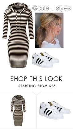 """""""Untitled #582"""" by delanie1282003 on Polyvore featuring adidas"""