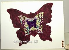 Grammy's Attic: Butterfly From Darkness to Light Words 2 Scrap By Challenge.