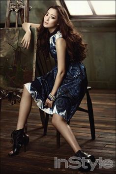 Kim Hee Sun InStyle