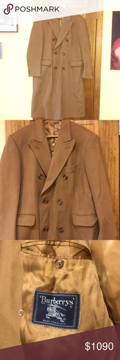 caaaa07f8 Spotted while shopping on Poshmark: Burberry Peacoat for men, good  condition.