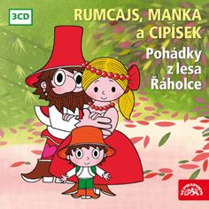 RUMCAJS, MANKA A CIPÍSEK (3 CD) :: Supraphon Audio Books, Childhood, Family Guy, Animation, Children, Illustration, Youtube, Fictional Characters, Cartoons