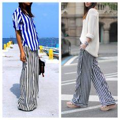 Stripes pants!
