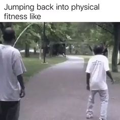 Jumping Back Into Physical Fitness Like – So Funny Epic Fails Pictures Really Funny, Funny Cute, The Funny, Hilarious, Funny Video Memes, Funny Relatable Memes, Funny Posts, Funny Clips Videos, Memes Humor