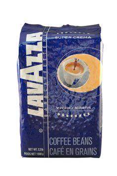 Lavazza Super Crema  Coffee Beans Koffiebonen Kaffeebohnen Kaffebønner Kahvipavut Kohvioad Kaffebönor