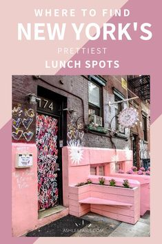 Here are 6 of New York's prettiest brunch spots that will keep your insta-feed full with pretty brunch snaps | Best Food In New York | Places To Travel USA | Breakfast Spots | New York Resturants #newyorkcity #newyorkfood #travelguide #food #travelusa