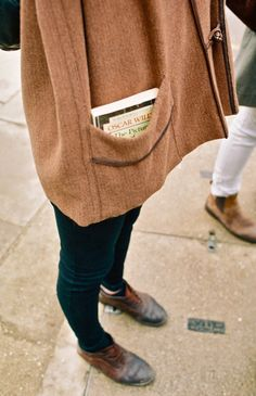 Always carry a book