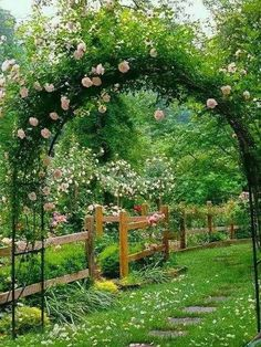 Beautiful Garden Arch. Brings a little magic to any garden... like out of a story book