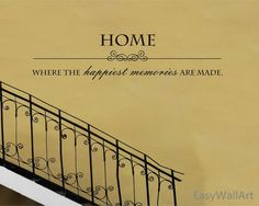 Home Quote Wall Decal Quotes Wall Decals Memory by EasyWallArt