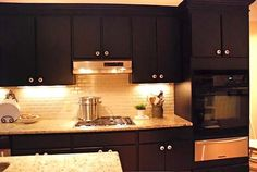 I want to paint my Cabinets Black