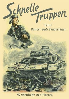 Schnelle Truppen Panzer - Teil it. Propaganda recruitment poster