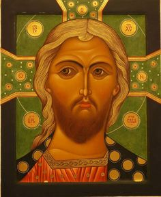 Icon of Jesus Christ More images: http://whispersofanimmortalist.blogspot.com/2015/04/icons-of-our-lord-jesus-christ-1.html