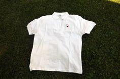 """тениска: мъжка размери: M, XXL материя: 100% памук цвят: бял - бродирано цветно лого на """"Зачатие"""" цена: 15 лв"""