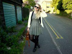 Eve Wanted a Wardrobe: monochrome fashion style