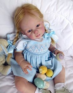 REBORN NEW LOUISA BY J.de LANGE & LULLABY LAKE SWEETEST LITTLE TODDLER | eBay