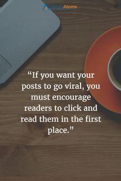 Create #Viral Content:  #InboundMarketing #ContentMarketing #SocialMedia