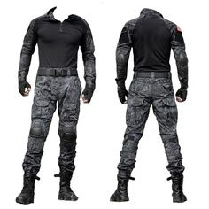 Army Military Tactical Combat Uniform Clothes With Knee Pads – (:Tap The LINK NOW:) We provide the best essential unique equipment and gear for active duty American patriotic military branches, well strategic selected.We love tactical American gear Tactical Uniforms, Tactical Armor, Tactical Pants, Tactical Clothing, Zombie Tactical Gear, Tactical Equipment, Uniform Clothes, Army Clothes, Airsoft Gear