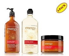 Bath  Body Works Aromatherapy Energy Orange Ginger Body Lotion  Body Wash  Foam Bath  Sugar Scrub Full Size >>> Continue to the product at the image link.