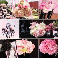 58da393ebc Sisterly Love Bake Shop   Pink   Black  Boudoir Lingerie Bridal Shower  Chanel Bridal