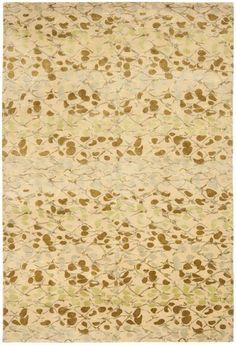 Safavieh Martha Stewart MSR8641D-Abstract Trellis Sprout Green Rug