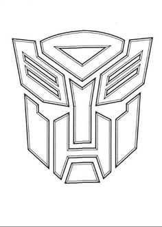 The Autobot symbol is often found on the cover or back cover of Transformers coloring books.