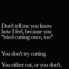 cutting and depression image