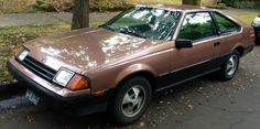 Brown Toyota Celica