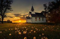 Village church, Varmland, Sweden