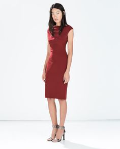 BOATNECK TUBE DRESS-Plain-Dresses-WOMAN | ZARA United States