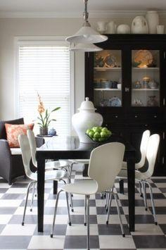 Transitional Breakfast Room - contemporary - dining room - chicago - Sean Michael Design