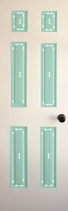 How to paint a door...so glad I found this I plan on re-painting all my interior doors this weekend!