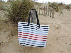 Sac de plage XXL rayé marin : Sacs bandoulière par happyaime