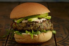 Take one bite of theseSpicy Black Bean Burgers with Chipotle Mayo from The Skinnytaste Cookbook and you'll understand why we love this recipe so much. Packed with fiber, protein and iron, black be...