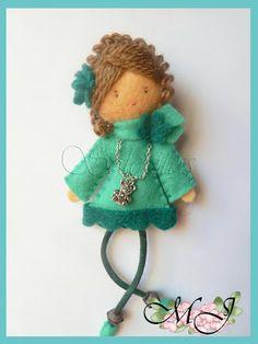 Cosiendo con María José: Llegan más muñecas de fieltro