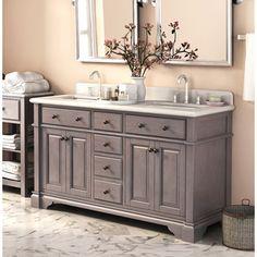 Shop for Casanova 60-inch Double Sink Vanity with Backsplash. Get free delivery…
