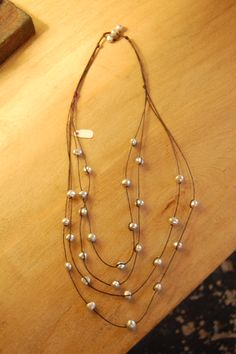 Inspiration- Multi-Strand Beaded Necklace