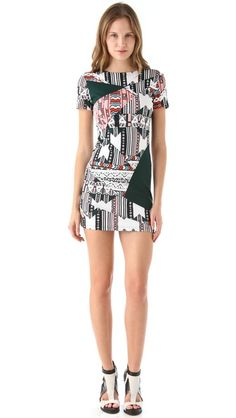 Pencey Standard Mosaic Dress by Jessica Hart for Pencey Standard
