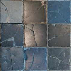 tile cracks - physics unknown by uair01, via Flickr