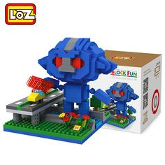 LOZ 490Pcs Building Block Educational Cartoon Movie Product Kid Toy - BLUE