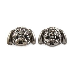 Joji Boutique - dark silver puppy dog post earrings,  (http://www.jojiboutique.com/products/dark-silver-puppy-dog-post-earrings.html)