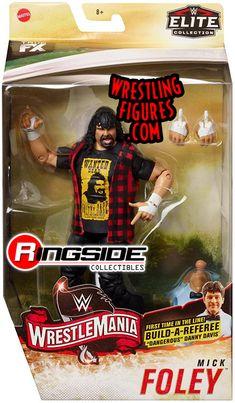 Mankind Wwe, Figuras Wwe, Sting Wcw, Wwf Superstars, Mick Foley, Wwe Toys, Wwe Action Figures, Wwe Elite, Wrestling Wwe